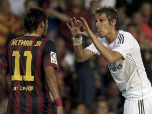 Neymar vs Real Madrid